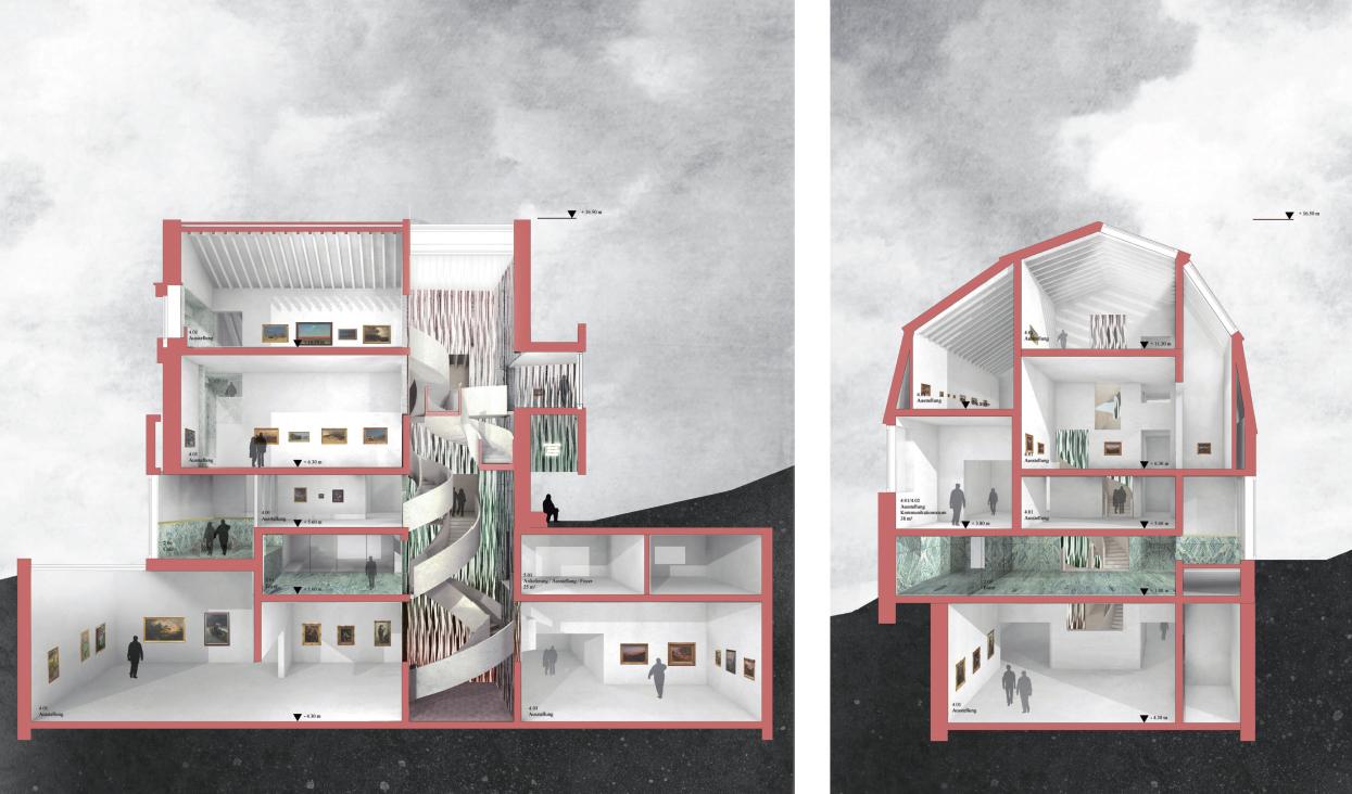 Jack Molina Architekten Museum Sander